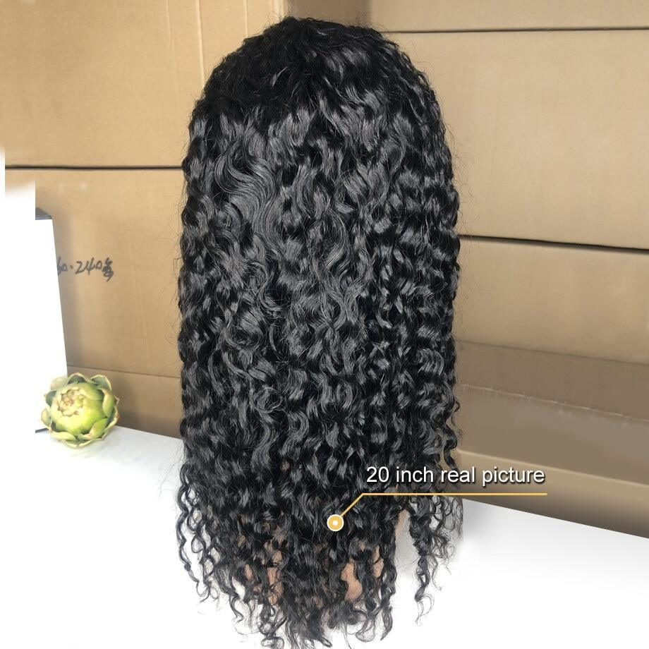 water wave wig short curly lace front human hair wigs for black women bob Long deep frontal brazilian wig wet and wavy hd fullwater wave wig curly lace front human hair wigs for black women bob Long deep frontal brazilian wig
