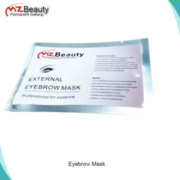 External Eyebrow Mask anesthetichs eyebrow mask permanent makeup use