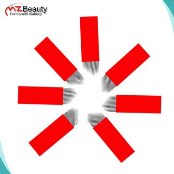 MZ BOLD BLADE 16 PINS 18PINS 21PINS V shape Microblading Needles