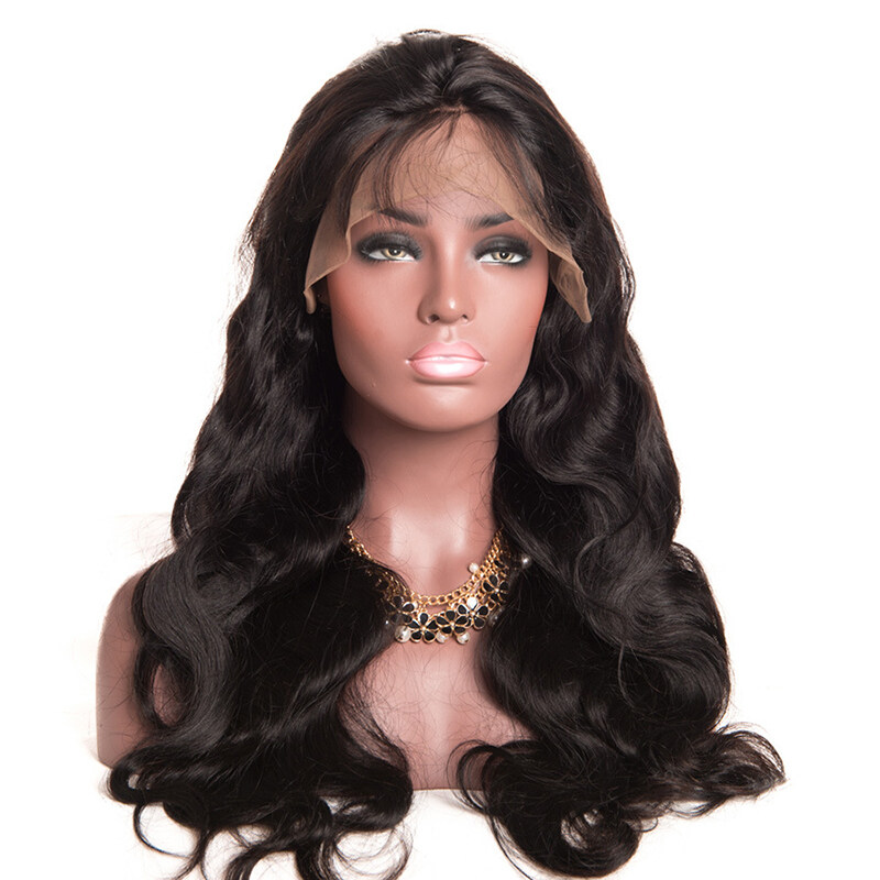 360 Lace Frontal Wig Pre Plucked With Baby Hair Brazilian Body Wave Wig