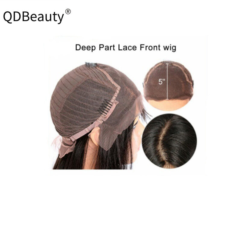 Lace Front Human Hair Wigs 5x5 Body Wave Wigs For Black Women 150% Density