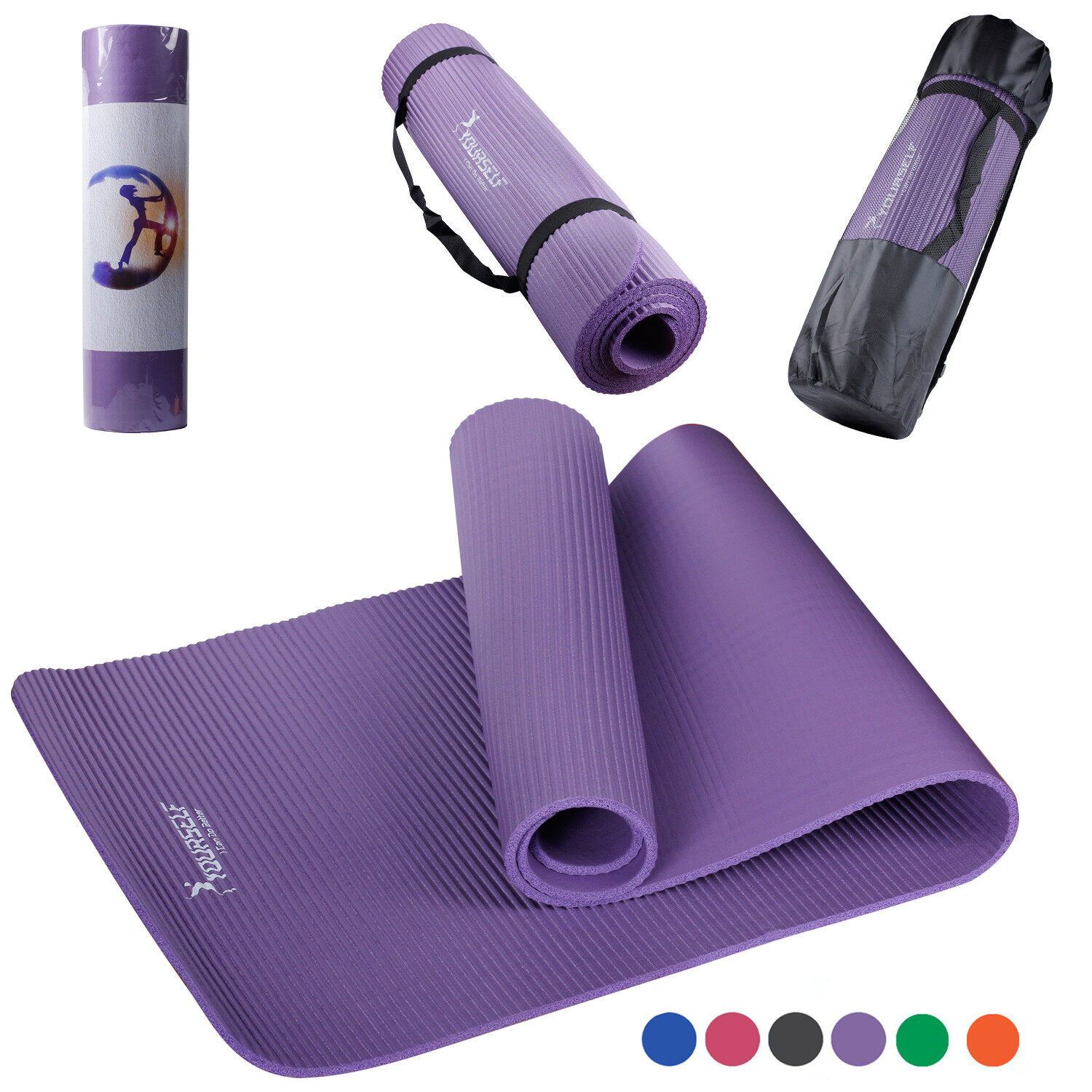 Thickest Yoga Mat Available Skidless Yoga Mat Syourself