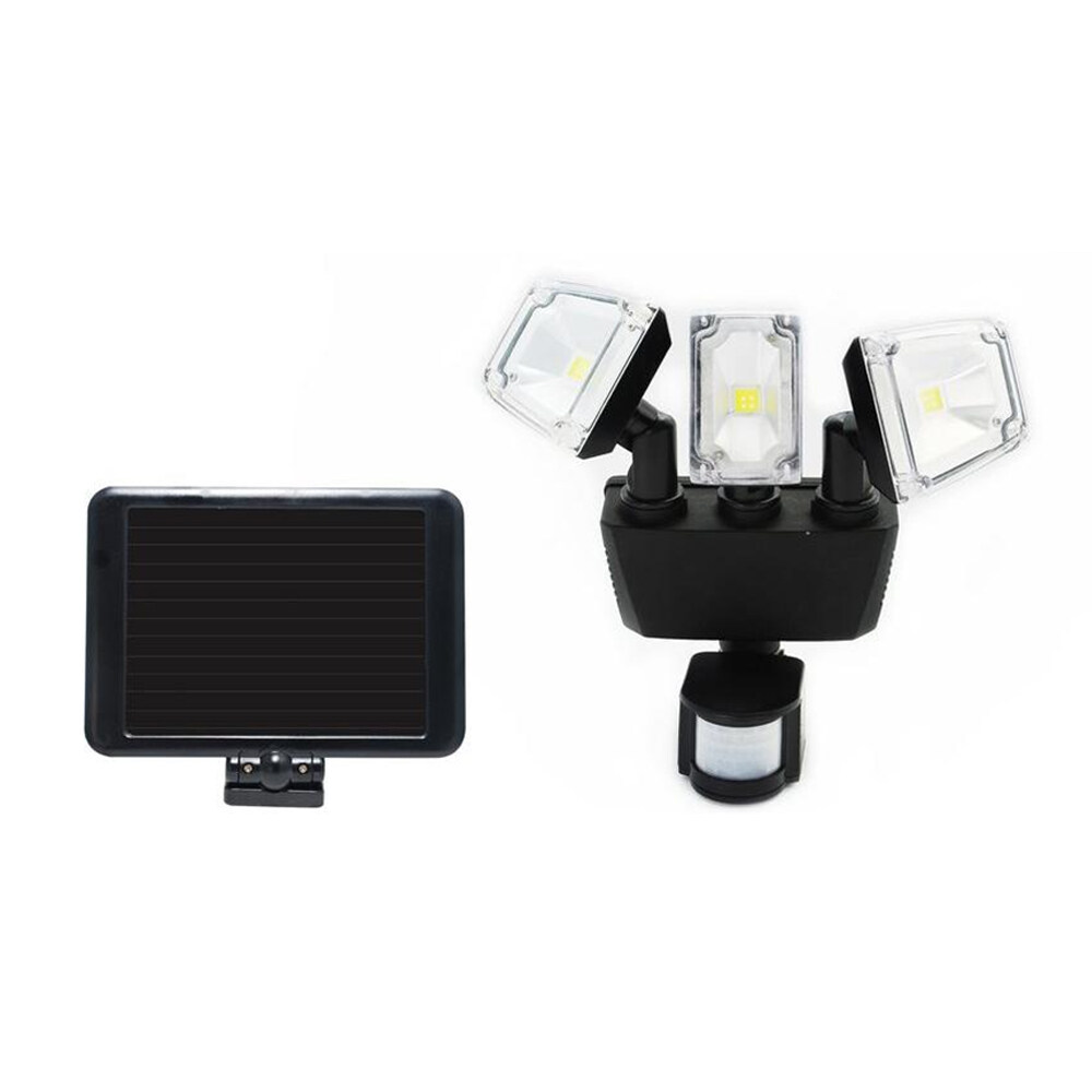 3 cob led light sensor solar light security garden light pir motion off when the switch is in the off position the light will remain off and will not detenct any movement aloadofball Choice Image