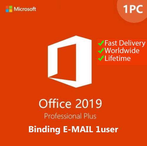 Office Professional Plus 2019 Retail 32/64-bit Key