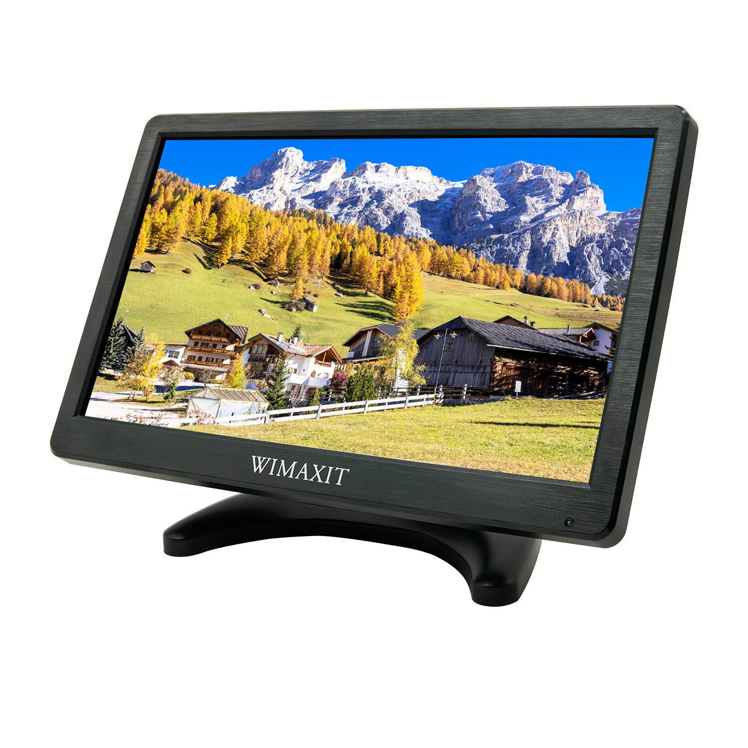 WIMAXIT 12 Inch Portable Monitor HD 1920x1080 IPS LCD HDMI
