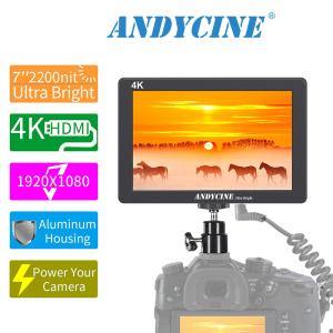 ANDCYINE X7 7Inch Ultra Brightness Camera Video Monitor 4K HDMI Camera Field Monitor for Sony,Canon,Panasonic,Fuji DSLR