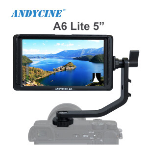 "Andycine A6 Lite + Storage Case, 5"" IPS Full HD IPS 1920x1080 DSLR Video Peaking Focus Assist Camera Field Monitor"