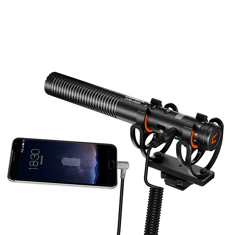 Shotgun mic for iphone