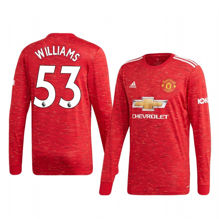 Best Online Store For 20/21 Manchester United Home Long Sleeve ...
