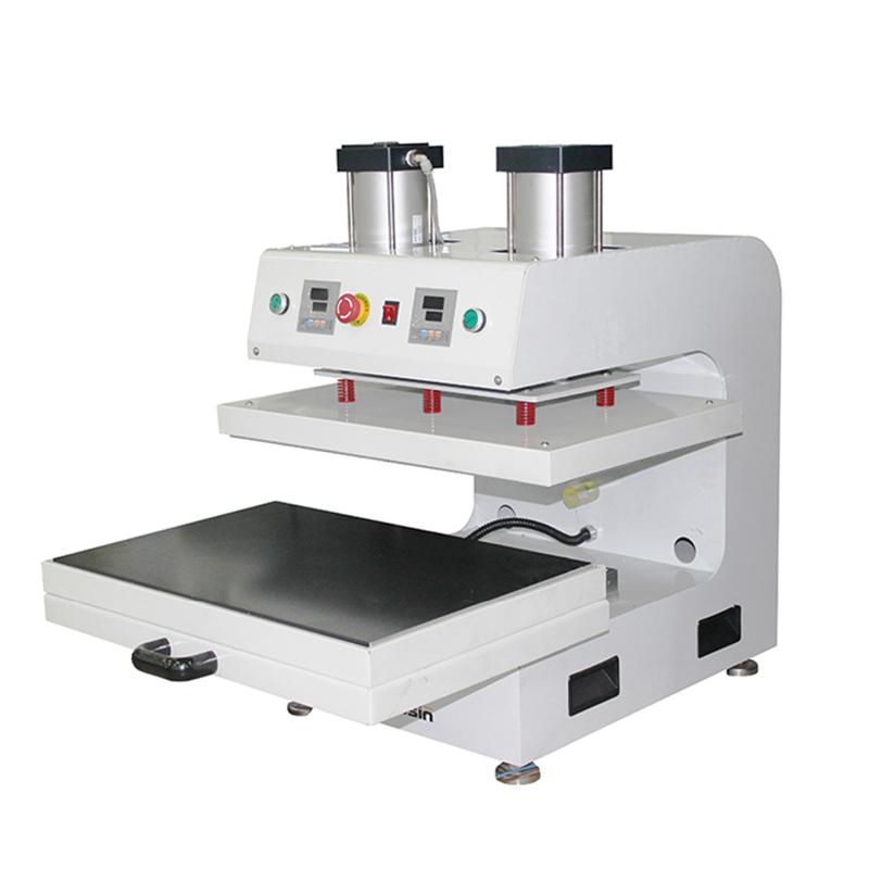 rosin press machine 40 x 50 cm 16 x 20 inch dual heat press pneumatic auto rosin heat press. Black Bedroom Furniture Sets. Home Design Ideas