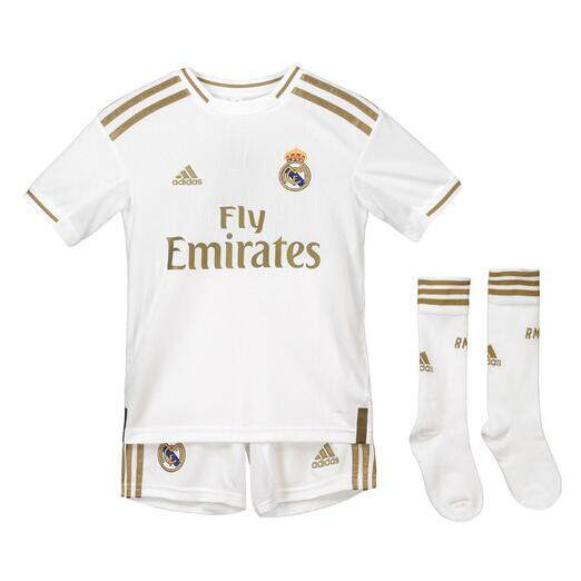Real Madrid HOME kids kit Soccer Jersey 2019/2020