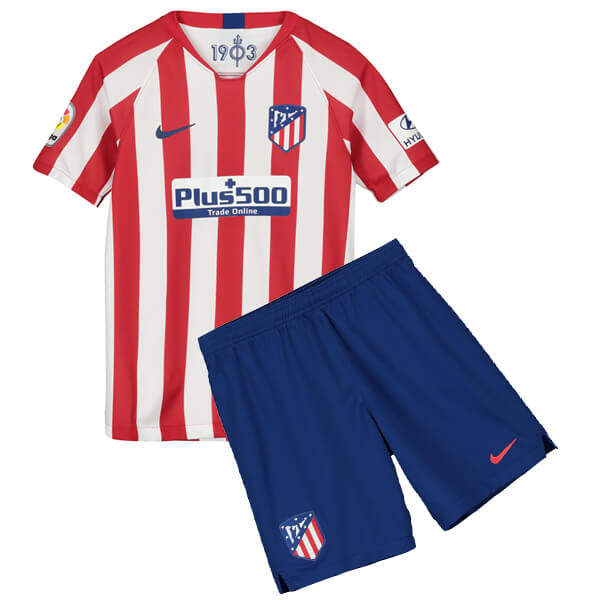 ATLETICO MADRID HOME KIDS FOOTBALL KIT soccer Jersey 2019/2020