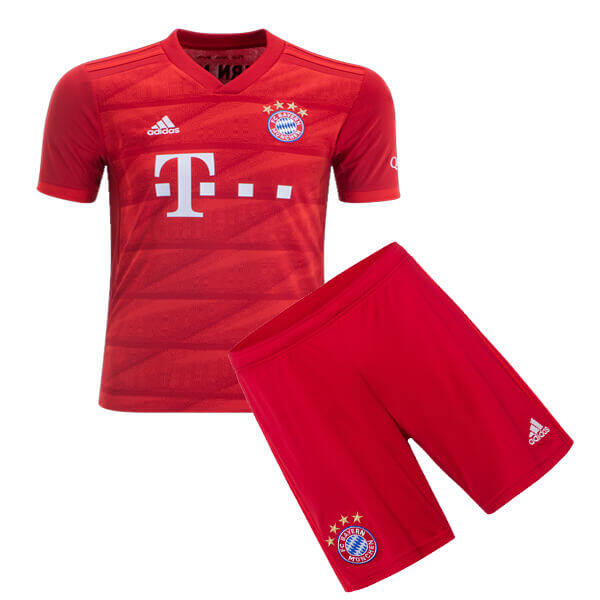 super popular ed8f2 37e87 BAYERN MUNICH HOME KIDS FOOTBALL KIT soccer Jersey 2019/2020