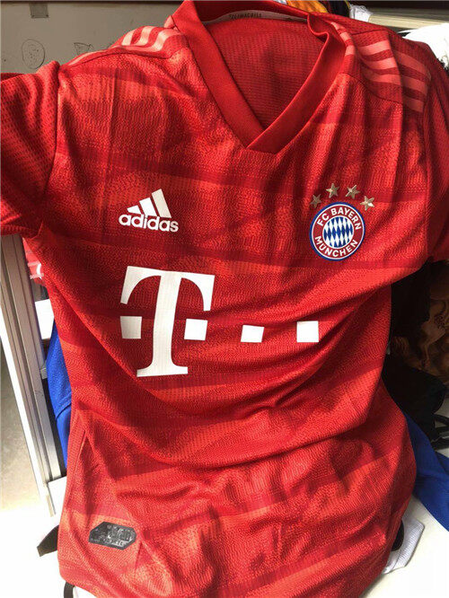 BAYERN MUNICH HOME PLAYER VERSION FOOTBALL SHIRT 19/20