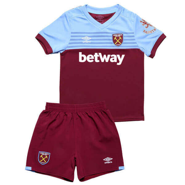 West Ham United Home Kids Football Kit 19/20