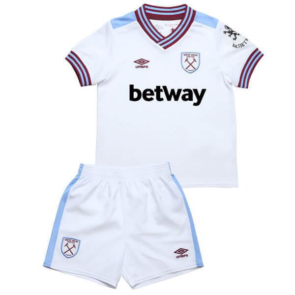 West Ham United Away Kids Football Kit 19/20