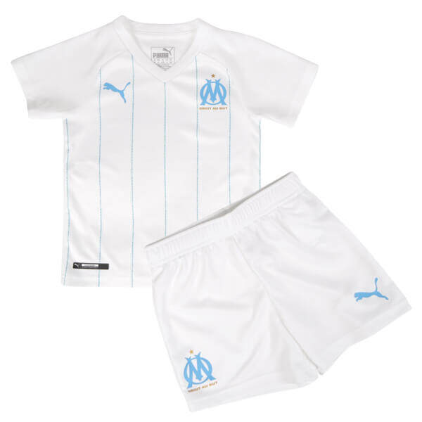 OLYMPIQUE MARSEILLE HOME KIDS FOOTBALL KIT soccer Jersey 2019/2020