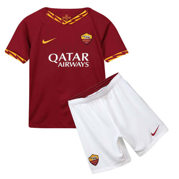 AS ROMA HOME KIDS FOOTBALL KIT soccer Jersey 2019/2020