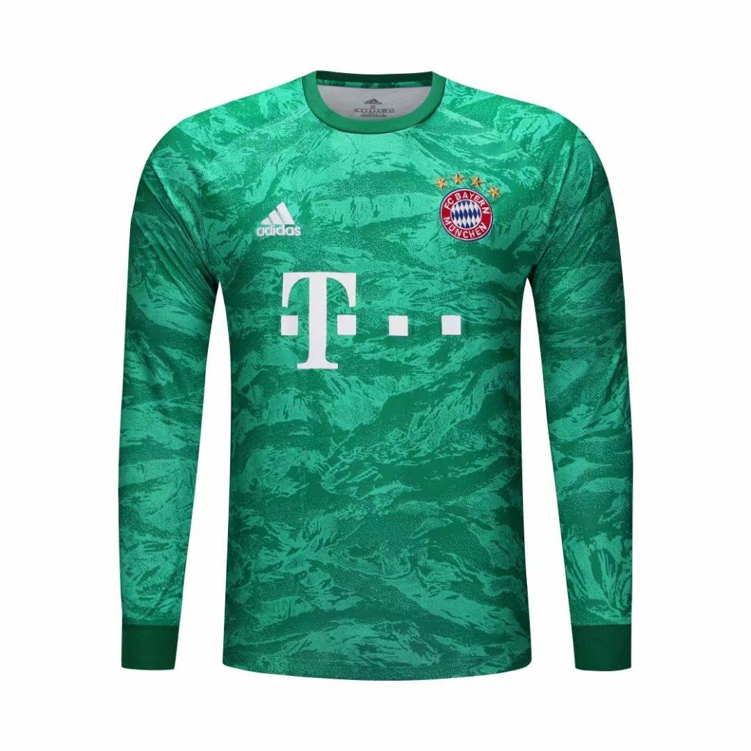 Bayern Munich goalkeeper Long sleeve Soccer jersey 2019/20