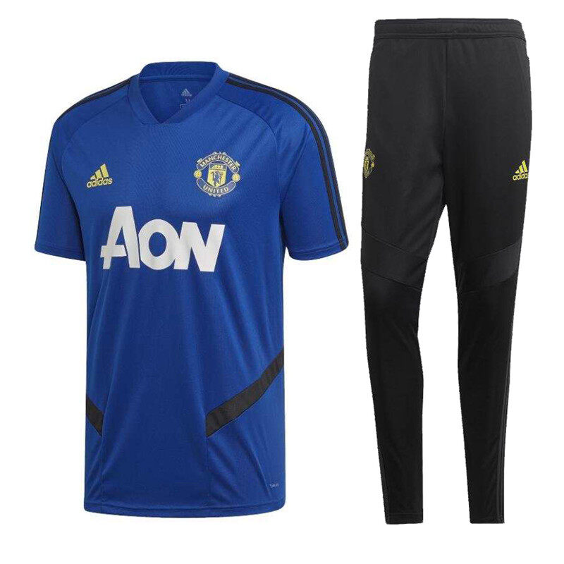 19 20 Manchester United Pre Match Kit Training Suit Pre Match Jersey