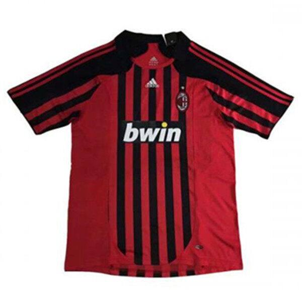 2007-08 AC Milan Home Retro soccer jersey