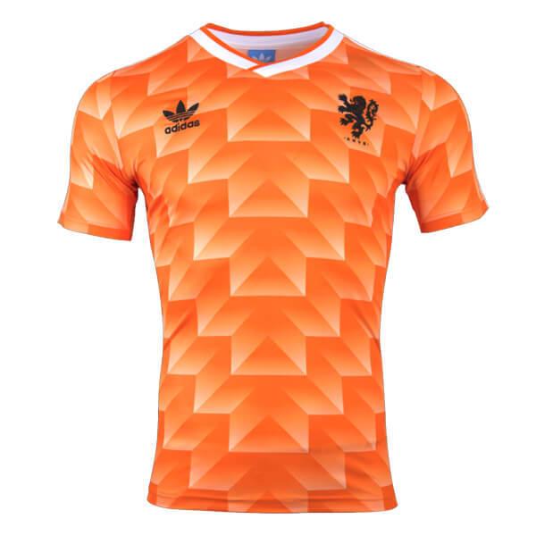 Netherlands Retro 1988 Home Shirts