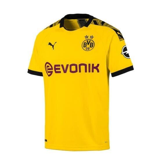 Borussia Dortmund Home soccer Jersey 2019-2020 BVB Football Shirt