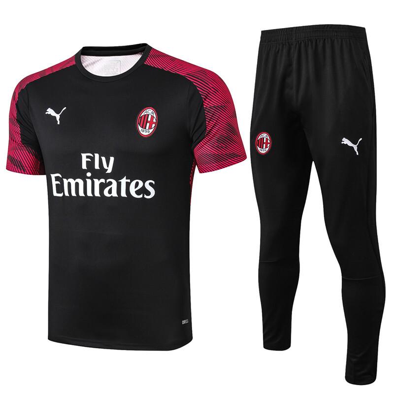 AC Milan red adult Pre Match Shirt 2019/20