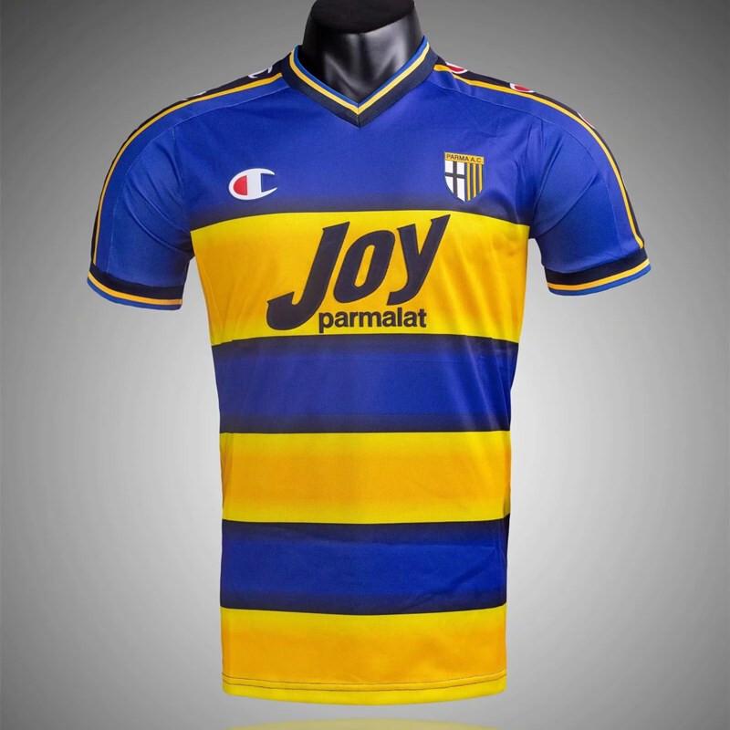 Retro - Parma Calcio 2001/02 Away soccer Jersey