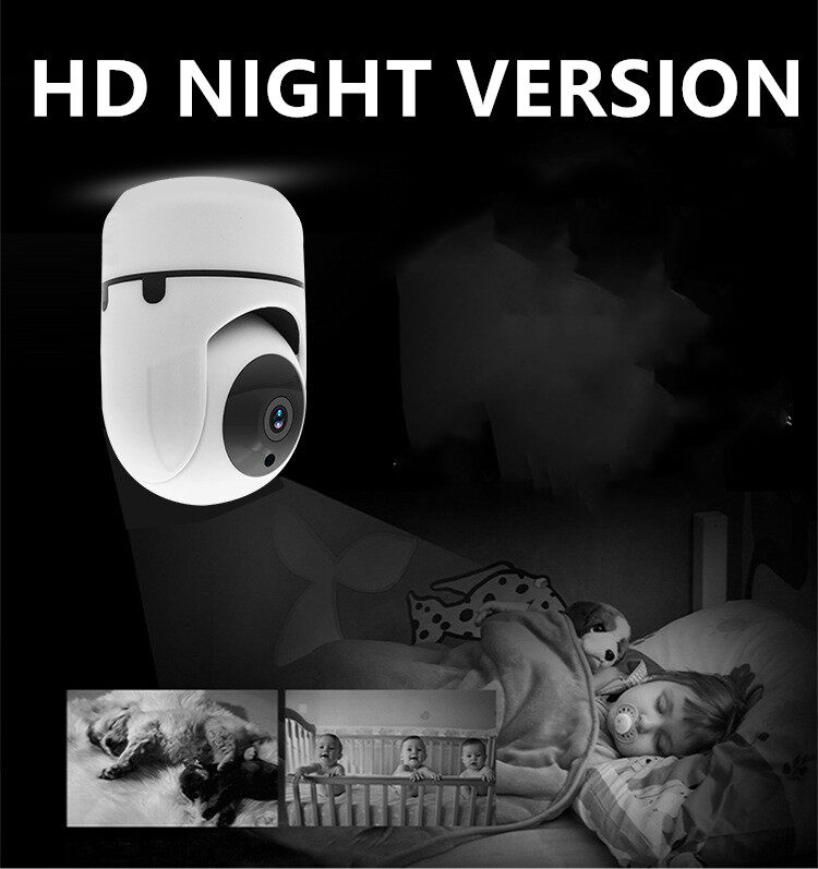 Wifi Camera 360Degree Fisheye Indoor PTZ IP Camera 1080P Home Security CCTV Came 3