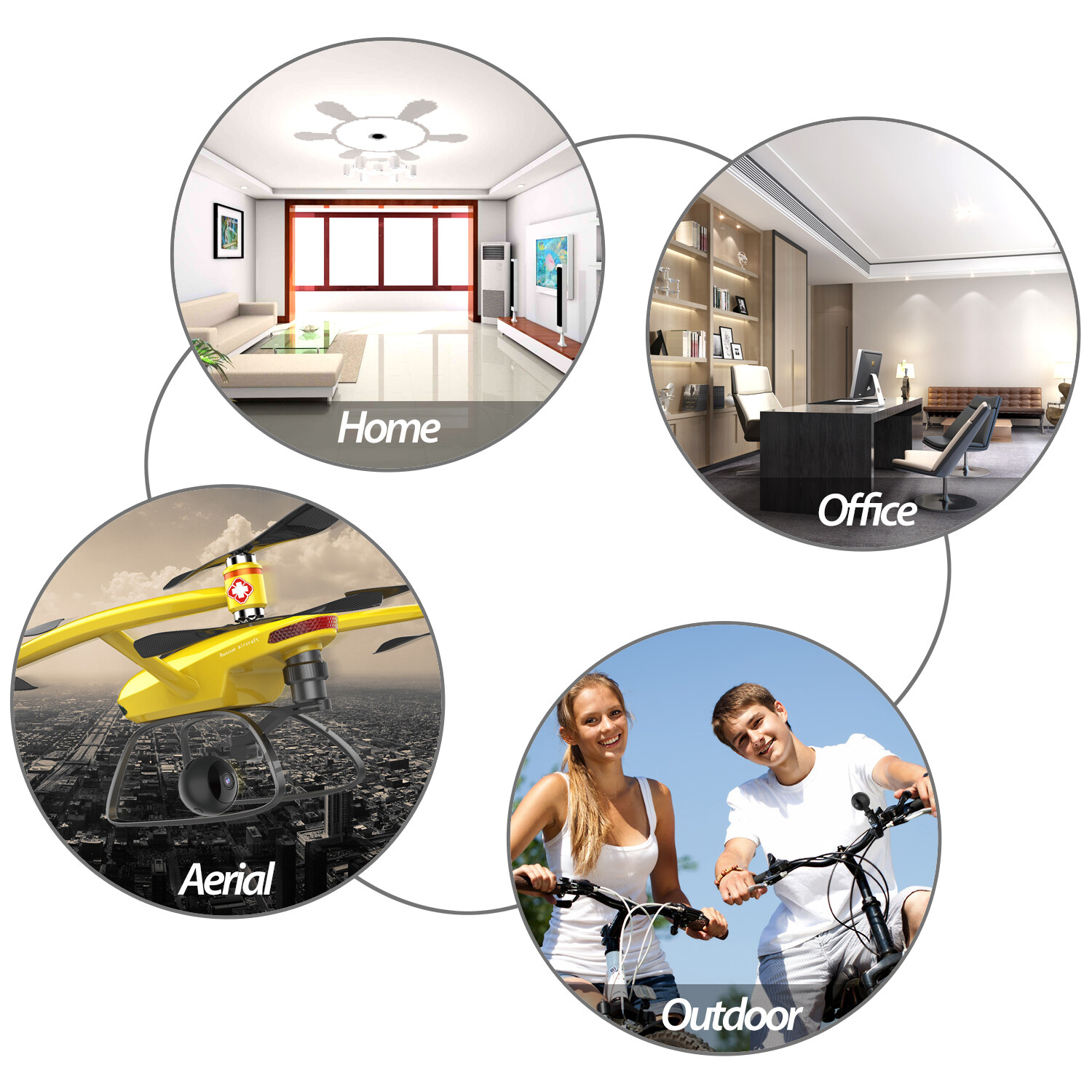W8 Mini Wifi Camera Hd 1080p Magnet Bracket 150 Degree Wide Angle Night-Vis E3T6 3
