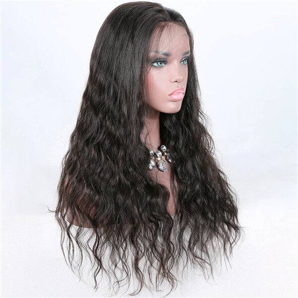 DB-013LW Virgin Hair 360 Lace Front Wigs For Black Women Brazilian Loose Wave Hair Remy Wigs 1