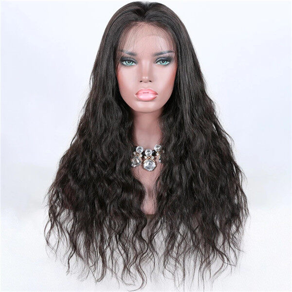 DB-013LW Virgin Hair 360 Lace Front Wigs For Black Women Brazilian Loose Wave Hair Remy Wigs 3