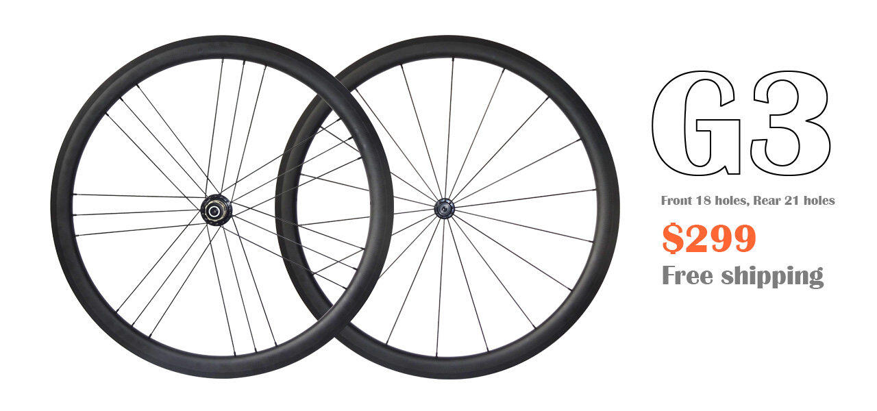 Carbon wheels G3 weave