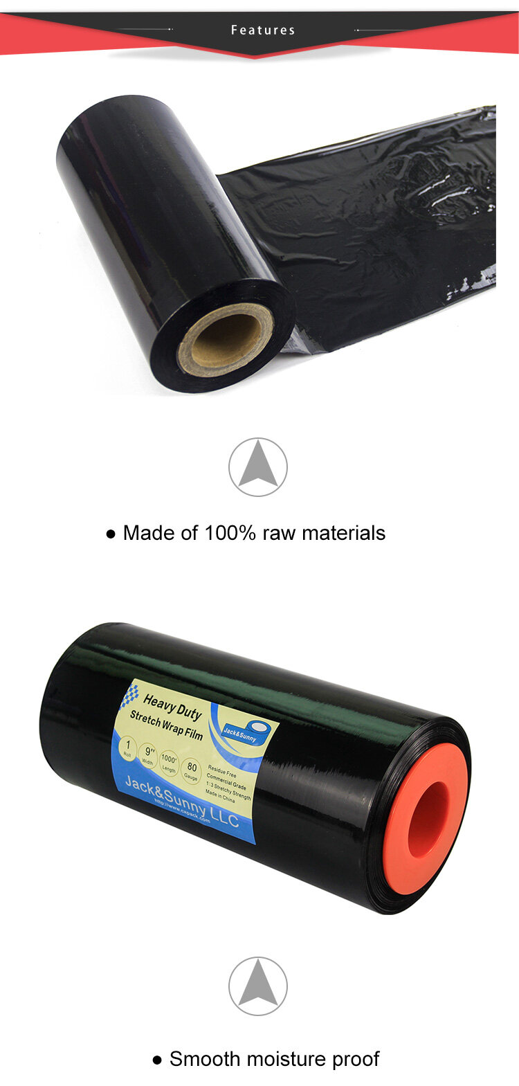 Heavy Duty Hand Plastic Stretch Wrap