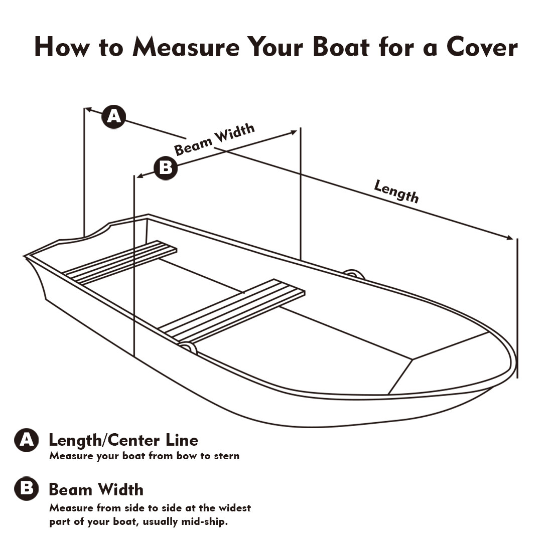 Waterproof 210D PVC Coated Tarpaulin V-hull Boat Ship Cover Outdoor Fit 11-13ft