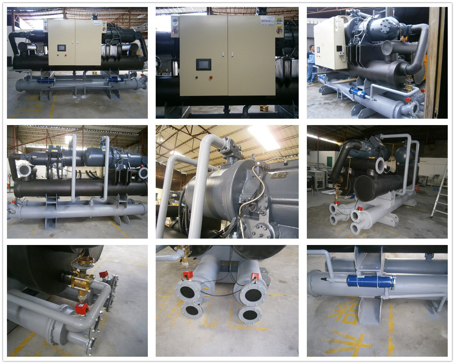 low temperature air cooled chiller