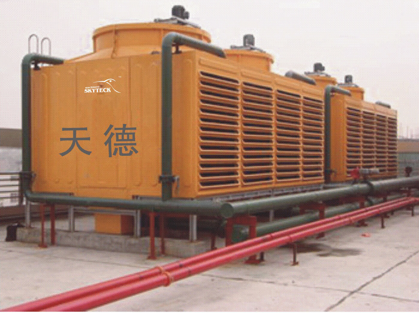 durable square cooling towers
