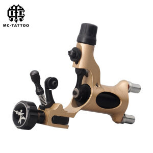 Professional quality rotary alloy tattoo machine with tattoo style gun engine dragonfly for Shader and Line