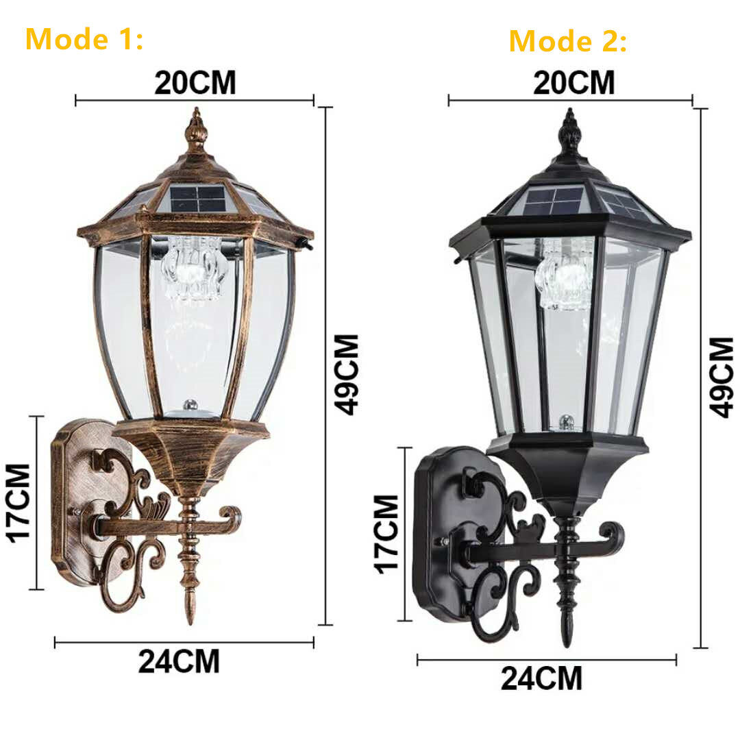 Selling Wireless Solar Wall Lantern Outdoor Dimmable Dusk To Dawn Solar Light Led Wall Mount Light Fixture Aluminum Housing Glass Shade Waterproof Ys W1 Online Newest Wireless Solar Wall Lantern Outdoor Dimmable Dusk
