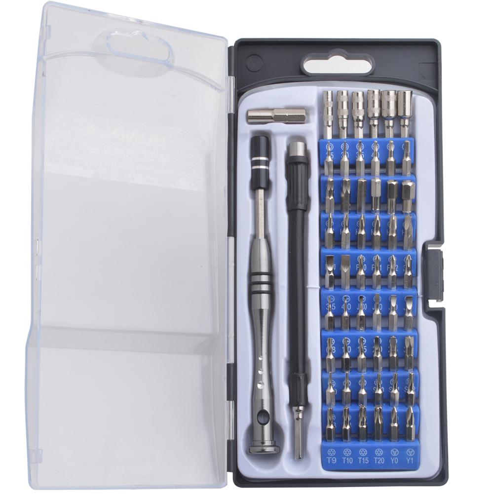 57 Pcs Drill Bit Set Wood Metal Masonry /& Phillips Flat Slot Torx Headed bits