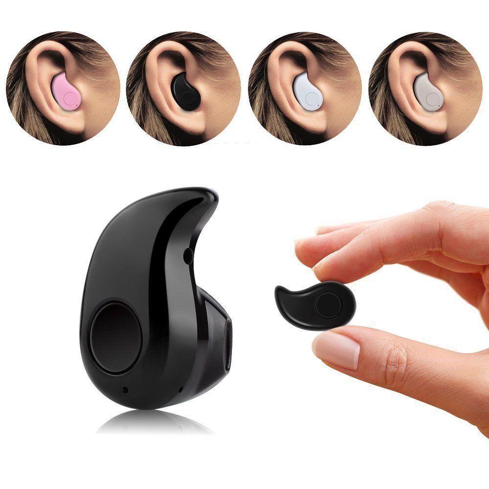 Mini Wireless Bluetooth 4.0 Stereo In-Ear Headset Earphone For Samsung iphone 1