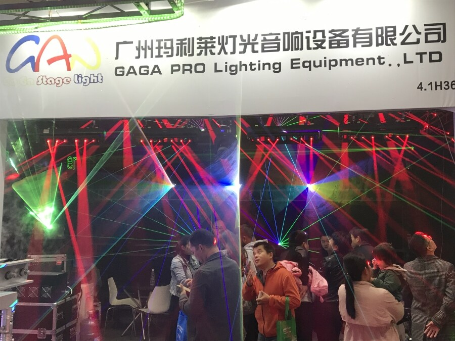 GAGA Light attend Prolight+sound in 2019 exhibtion!