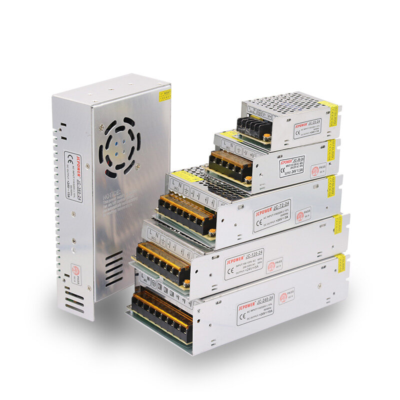 24V Switching Power Supply LED Driver Transformer Adapter for CCTV LED Lighting