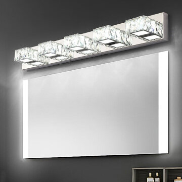 Vanity Mirror Crystal Lights
