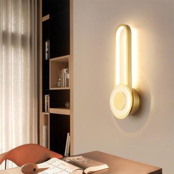 Bedroom bedside wall lamp