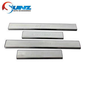 Door Sill Stainless steel for Mazda BT50 2012-2018