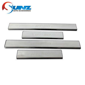 Door Sill Stainless steel for Mazda BT50 2012-2018