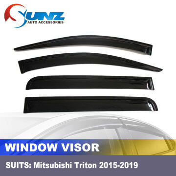 DOOR VISOR FOR MITSUBISHI TRITON 2015-2019