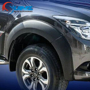 FENDER FLARE SMOOTH BLACK FOR MAZDA BT50 2012-2019
